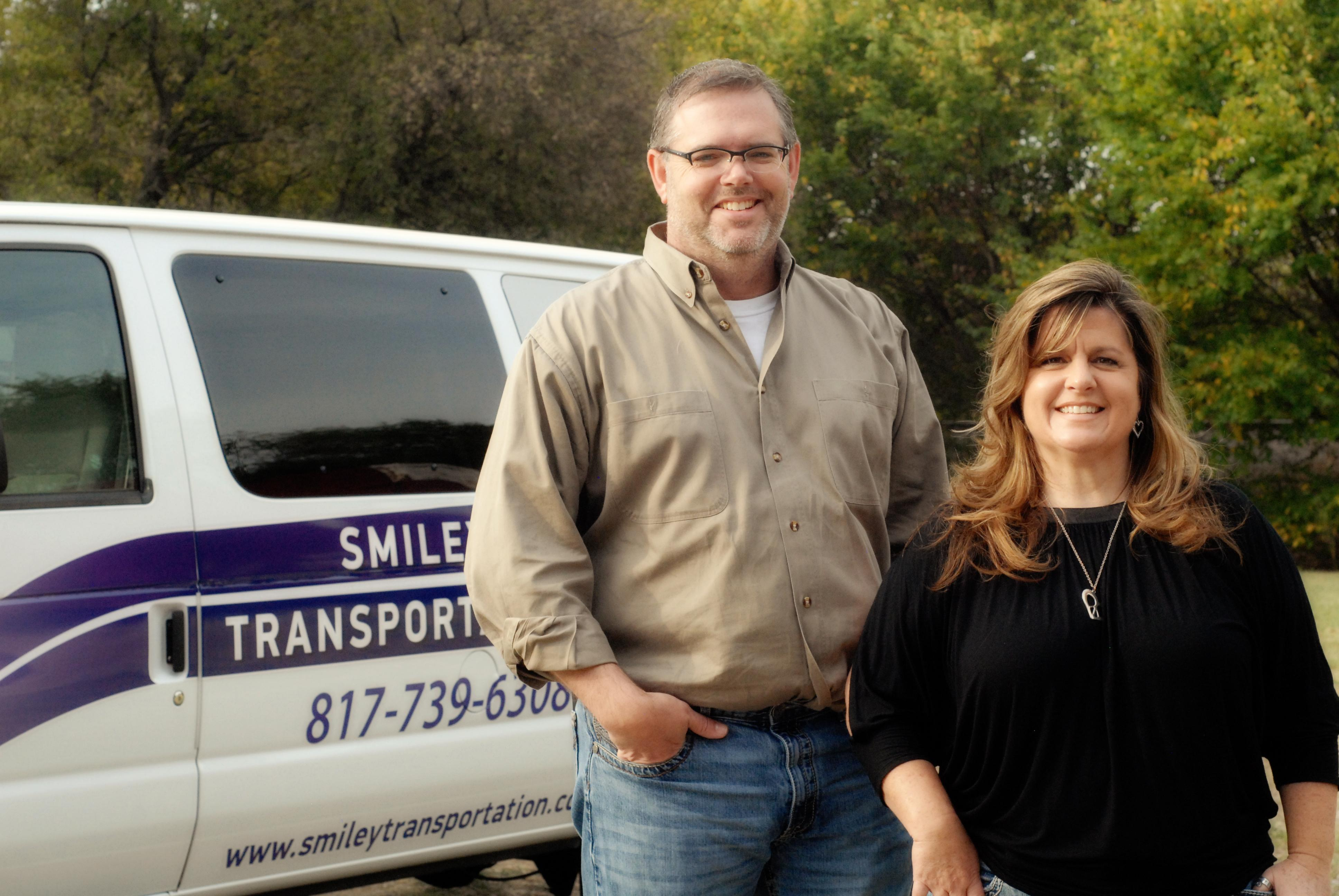 Smiley Transportation founder Rushelle Wetzel